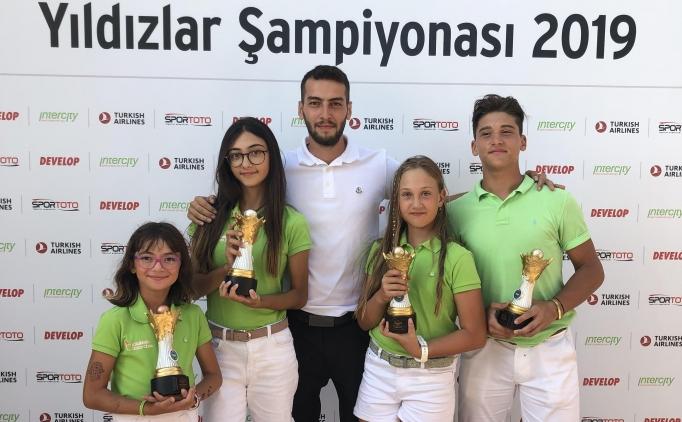 Golfün yıldızı Ataşehir Kulübü oldu