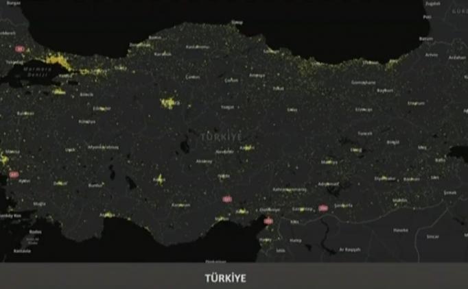 Adana koronavirüs yoğunluk haritası (Dağılım) var mı