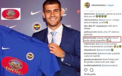 Morata'yı Fenerbahçe'ye transfer ettiler, cevap verdi