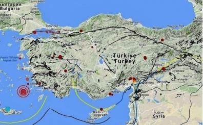 Son depremler, İzmir, Bodrum, Ege'de kaç şiddetinde deprem oldu?