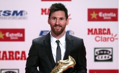 Messi 'Altın Ayakkabı' ödülüne kavuştu