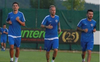 Kasımpaşa'da yeni transfer Markus Neumayr idmana çıktı