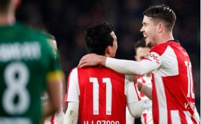 PSV Eindhoven fişi ilk yarıda çekti!