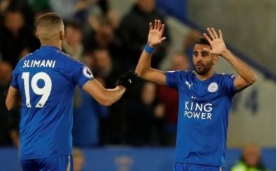 Leicester City, Mahrez ile puanı kurtardı!