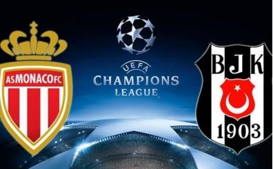 Salı, Beşiktaş'ın Monaco maçı kanalı? Canlı yayın hangi kanalda?