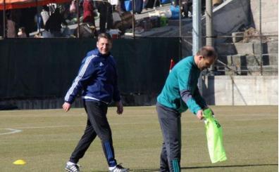 Karabükspor'da Zoran Barisic, ilk antrenmanına çıktı