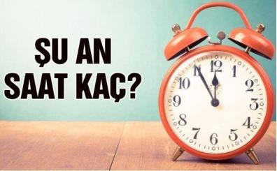 Şu an saat kaç? Türkiye'de saatler ileri alınacak mı?