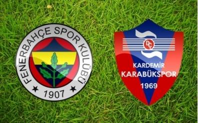 Fenerbahçe'nin muhtemel 11'i | FB Karabük maçı saat kaçta?