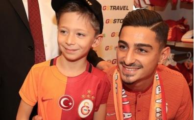 Koray Günter, Galatasaray taraftarlarıyla buluştu
