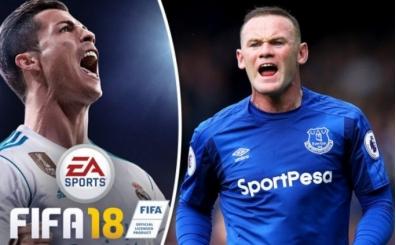 Wayne Rooney, FIFA18 hayranı çıktı