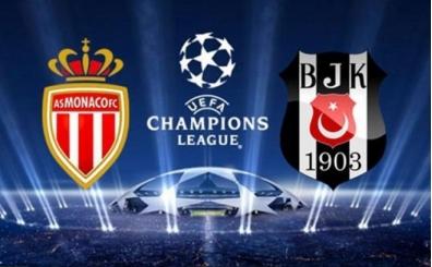 Şampiyonlar Ligi, Monaco Beşiktaş hangi kanalda canlı yayınlanacak?