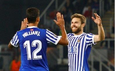 Sociedad, Vardar'ı gole boğdu!