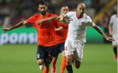 Başakşehir, Sevilla'ya direnemedi! 3 gol...