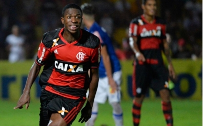 Vinicius Junior 45 milyon Euro'ya Real Madrid'de