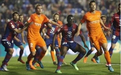 La Liga'dan ilk düşen takım Malaga oldu!
