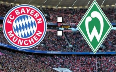Bayern Münih Werder Bremen maçı CANLI hangi kanalda saat kaçta?