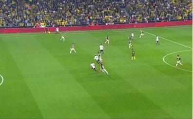 Fenerbahçe - Beşiktaş maçında tartışılan pozisyon
