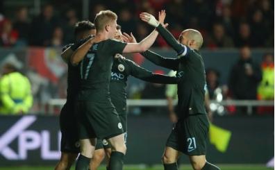 Manchester City kazanarak finale çıktı