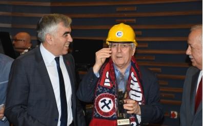 Fenerbahçe Başkanı Aziz Yıldırım, Zonguldak'ta