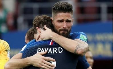 Dünya Kupası şampiyonu Fransa'nın golcüsünden ilginç rekor! İsabet yok