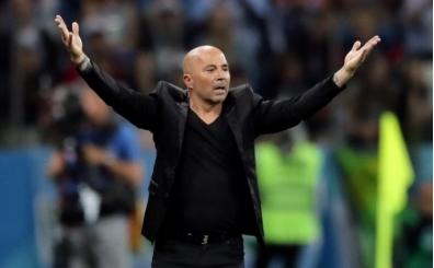 Jorge Sampoli'den maç sonu Lionel Messi itirafı; 'Leo'nun parlaklığı...'