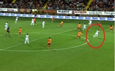 Galatasaray maçında kıyamet kopartan pozisyon için; 'Ofsayt yok'