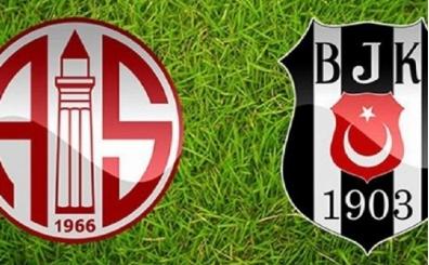 Beşiktaş'ın muhtemel 11'i | Antalyaspor BJK maçı hangi kanalda saat kaçta?