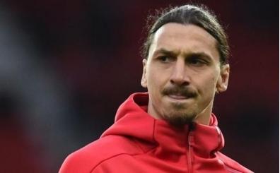 Zlatan Ibrahimovic, Manchester United'a veda etti! Yeni takımı...