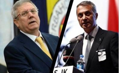 Fikret Orman ile Aziz Yıldırım'ın Beşiktaş Fenerbahçe derbi maçı açıklamaları