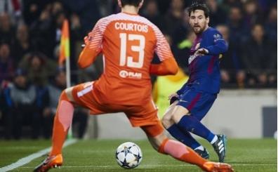 Messi'nin 'bacak arasından' attığı 22 gol!