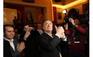 Erdoğan'dan Galatasaray Başkanı Cengiz'e kutlama