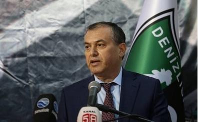 Denizlispor'da hakem isyanı: ''Hatalar futbolun önüne geçti''
