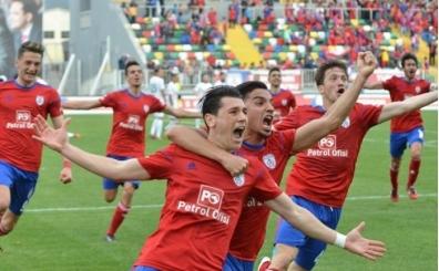 Altınordu'da futbolcular prim zengini