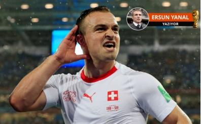 Ersun Yanal, İsviçre-Sırbistan maçını