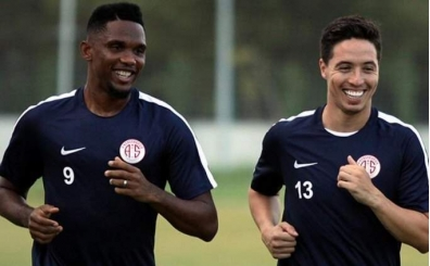 Antalyaspor'da Eto'o ve Samir Nasri kararı