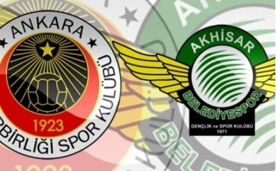 Gençlerbirliği Akhisarspor maçı canlı hangi kanalda saat kaçta?