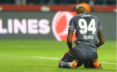Beşiktaş ve Talisca'ya kötü haber!