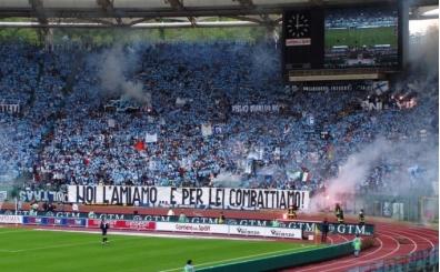 Lazio taraftarından kadınlara ilginç yasak