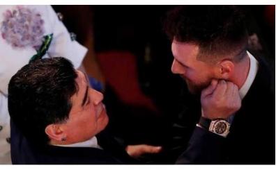 Maradona'dan Leo Messi'ye destek; 'Suçlu değilsin, seni çok seviyorum'