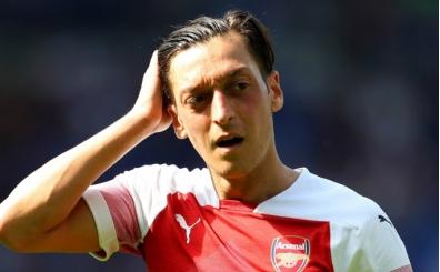 Mesut Özil Arsenal'den ayrılıyor! Yeni durağı...