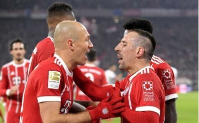 Bayern Münih'te Robben ve Ribery yedek kulübesinde!