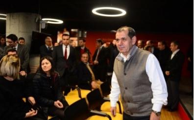 Dursun Özbek: 'Sizden helallik almaya geldim'