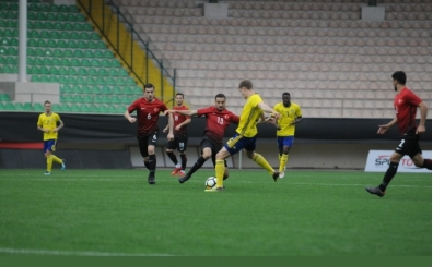 U21 Milli Takımı, Alanya'da İsveç'e farklı mağlup oldu