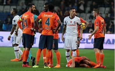 Başakşehir - Beşiktaş maçında kavga