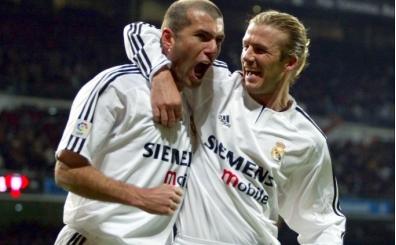 Beckham: 'Zidane tüm zamanların en iyisi'
