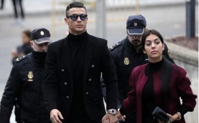 Cristiano Ronaldo'ya İspanya'dan flaş ceza