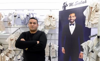 Salah'ın ismini marka yaptı, Araplara ürün satıyor