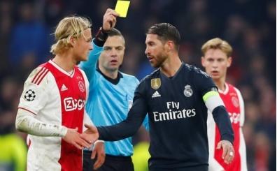 Sergio Ramos'tan savunma: 'Kart görmek zorundaydım'