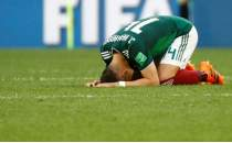 Chicharito: 'Almanya galibiyetini fazla abartmayın!'