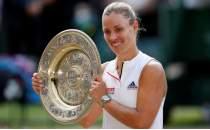 Wimbledon tek kadınlarda şampiyon Kerber